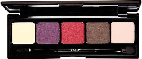 Палетка теней для век - NoUBA Unconventional Eyeshadow Palette