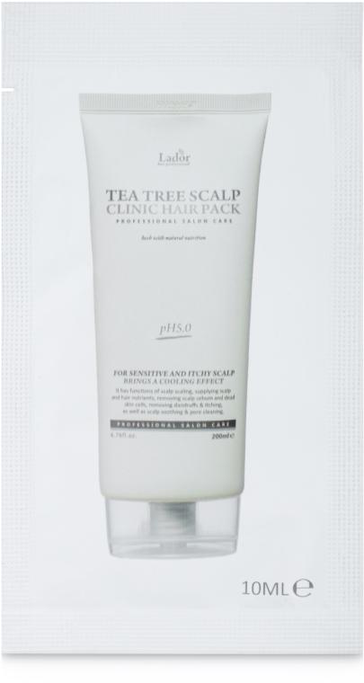 Маска для кожи головы с чайным деревом - La'dor Tea Tree Scalp Clinic Hair Pack (пробник)
