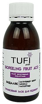 Кислотный ремувер для педикюра - Tufi Profi BioPeeling Fruit Acid