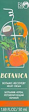 """Ботаник-крем регенерирующий ночной, """"Комплексное омоложение"""" - Bio World Botanica Botanic-Recovery Night Cream — фото N1"""