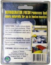 "Блок для поглощения запаха в холодильнике ""Без запаха"" - Naturally Fresh Crystal Refrigerator Fresh — фото N2"