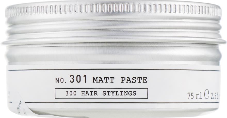 Матовая паста для волос сильной фиксации - Depot Hair Styling 301 Matt Past — фото N1