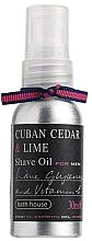 Духи, Парфюмерия, косметика Bath House Cuban Cedar & Lime - Масло для бритья