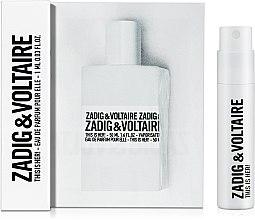 Духи, Парфюмерия, косметика Zadig & Voltaire This is her - Парфюмированная вода (пробник)