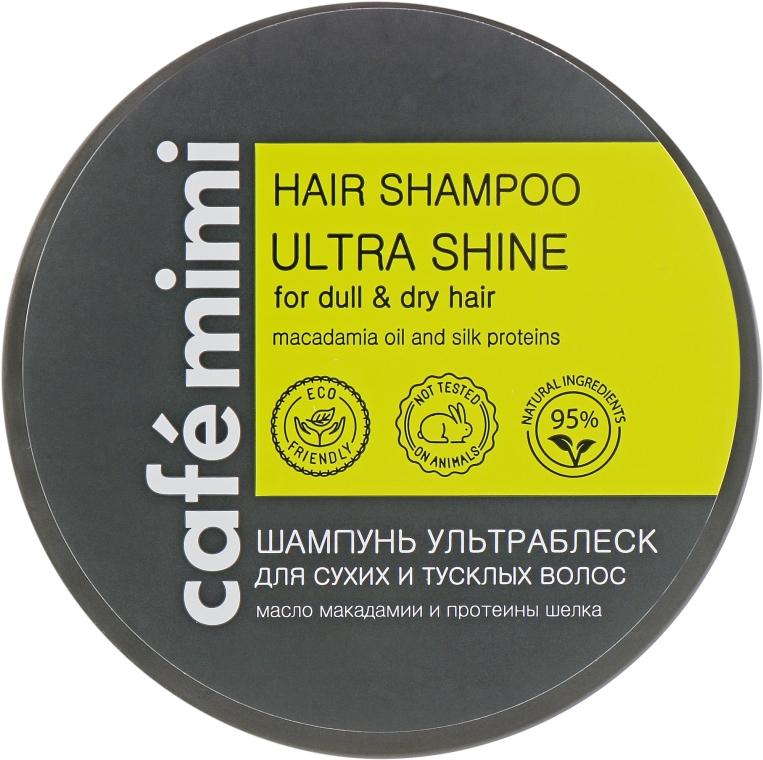 """Шампунь """"Ультраблеск"""" для сухих и тусклых волос - Cafe Mimi Hair Shampoo Ultra Shine"""