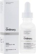 Духи, Парфюмерия, косметика Сыворотка для осветления - The Ordinary – Alpha Arbutin 2% + HA
