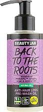 "Духи, Парфюмерия, косметика Масло против выпадение волос ""Back To The Roots"" - Beauty Jar Anti-Hair Loos Pre-Wash Oil"