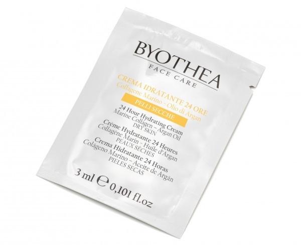 "Увлажняющий крем ""24 часа"" для сухой кожи - Byothea Moisturizer 24 Hours For Dry Skin (пробник)"
