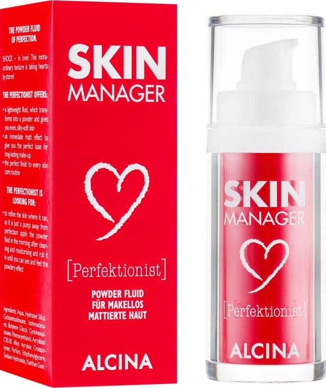 Матирующий флюид-пудра - Alcina Skin Manager Perfektionist