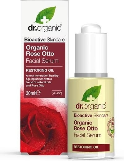 "Сыворотка для лица ""Роза"" - Dr. Organic Rose Facial Serum"