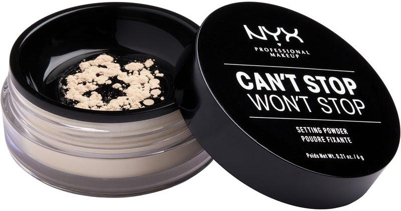 Фиксирующая рассыпчатая пудра для лица - NYX Professional Makeup Can't Stop Won't Stop Setting Powder
