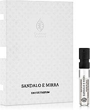 Giardino Benessere Sandalo e Mirra - Парфюмированная вода (пробник) — фото N1