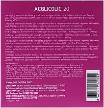Ампули комплексної дії з гліколевою кислотою - SesDerma Laboratories Acglicolic Ampoules — фото N3