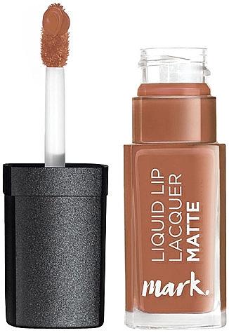"Жидкая матовая помада ""Матовая мания"" - Avon Mark Liquid Lip Lacquer Matte"