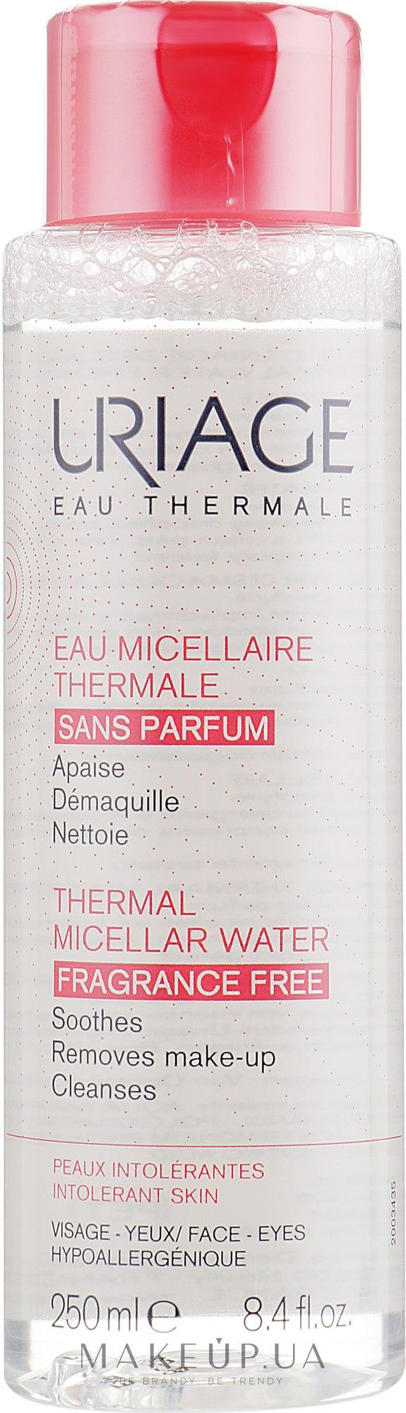 Термальна міцелярна вода для надмірно чутливої шкіри - Uriage Thermal Micellar Water Intolerant Skin — фото 250ml