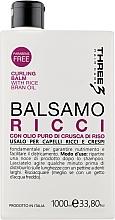 Духи, Парфюмерия, косметика Бальзам для кудрявых волос - Faipa Roma Three Hair Care Ricci Balm