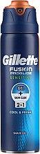 Духи, Парфюмерия, косметика Гель для бритья для чувствительной кожи - Gillette Fusion ProGlide Sensitive Cool & Fresh Shave Gel
