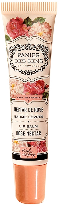 "Бальзам для губ масло ши ""Роза"" - Panier des Sens Lip Balm Shea Butter Rose Nectar"