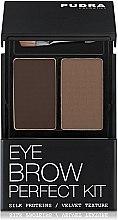 Духи, Парфюмерия, косметика Тени для бровей - Pudra Cosmetics Eye Brow Shadow