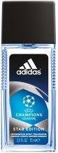 Духи, Парфюмерия, косметика Adidas UEFA Champions League Star Edition - Парфюмированная вода