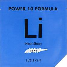 Духи, Парфюмерия, косметика Тканевая маска, успокаивающая - It's Skin Power 10 Formula Mask Sheet LI