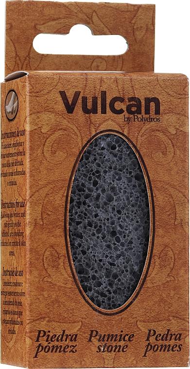 Пемза, 84x44x32мм - Vulcan Pumice Stone Dark Grey