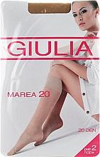 """Духи, Парфюмерия, косметика Гольфы для женщин """"Marea Gambaletto"""" 20 Den, visone - Giulia"""