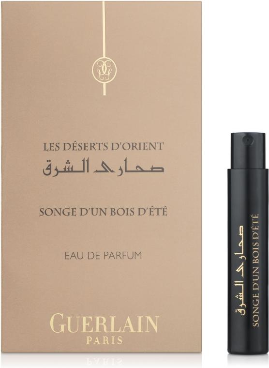 Guerlain Songe d'un Bois d'Ete - Парфюмированная вода (пробник) — фото N1