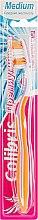 """Духи, Парфюмерия, косметика Зубная щетка """"Премиум Фреш"""", средняя, оранжево-фиолетовая - Colibris Medium"""