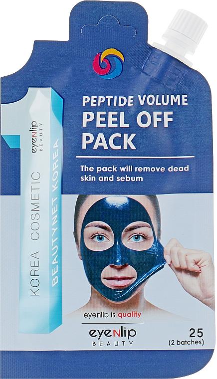 Маска-пленка с пептидами - Eyenlip Spout Pouch Peptide Volume Peel Off Pack