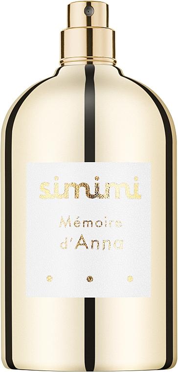 Simimi Memoire d`Anna - Парфюмированная вода (тестер без крышечки)