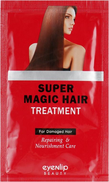 Кератиновая восстанавливающая маска для волос - Eyenlip Super Magic Hair Treatment (пробник)