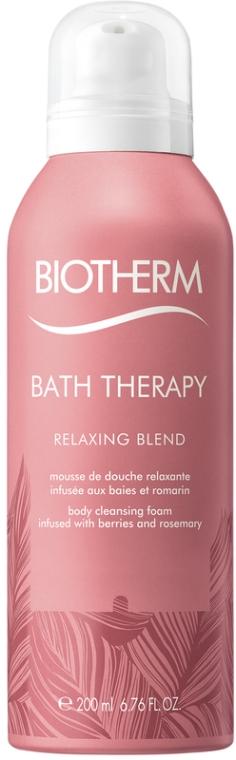 Пена для душа с экстрактом ягод и розмарина - Biotherm Bath Therapy Relaxing Blend Body Cleansing Foam