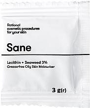 Духи, Парфюмерия, косметика Крем для жирной кожи лица, c лецитином и морскими водорослями 3% - Sane Face Cream (пробник)