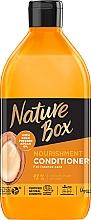 Духи, Парфюмерия, косметика Бальзам для питания и интенсивного ухода за волосами, с аргановым маслом холодного отжима - Nature Box Nourishment Vegan Conditioner With Cold Pressed Argan Oil