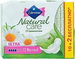 Духи, Парфюмерия, косметика Гигиенические прокладки, 12шт - Libresse Natural Care Ultra Normal