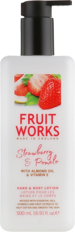 Лосьон для рук и тела - Grace Cole Fruit Works Hand & Body Lotion Strawberry & Pomelo