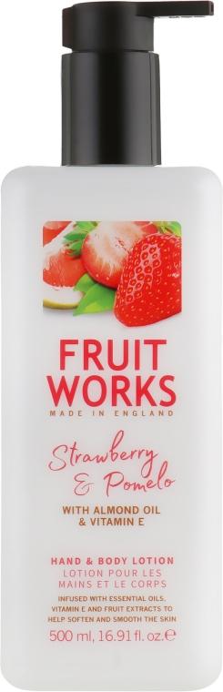 Лосьон для рук и тела - Grace Cole Fruit Works Hand & Body Lotion Strawberry & Pomelo