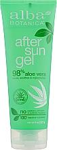 Духи, Парфюмерия, косметика Смягчающий лосьон после загара - Alba Botanica After Sun Gel 98% Aloe Vera