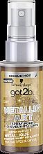 Духи, Парфюмерия, косметика Спрей-блеск для волос и тела - Got2b Metallic Art Spray