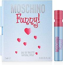 Парфумерія, косметика Moschino Funny - Туалетна вода (пробник)