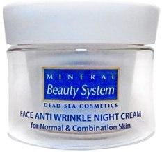 Ночной крем для лица от морщин для нормальной и комбинированной кожи - Mineral Beauty System Face Anti Wrinkle Night cream — фото N6