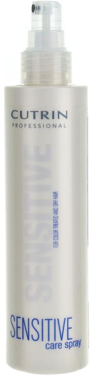 Спрей-уход для окрашенных и поврежденных волос - Cutrin Sensitive Care Spray For Color Treated and Dry Hair