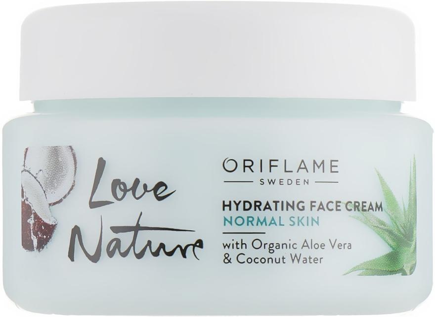 Увлажняющий крем для лица - Oriflame Love Nature Hydrating Face Cream
