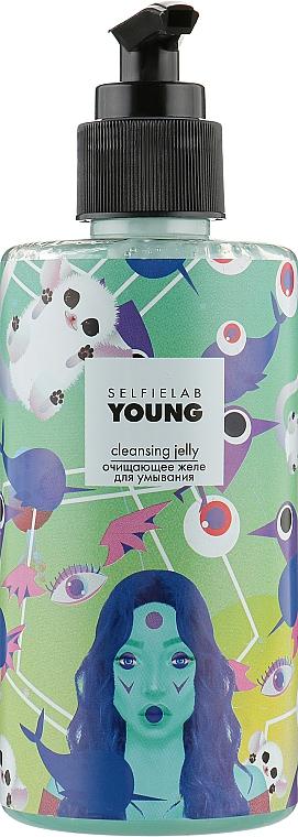 Очищающее желе для умывания - Selfielab Young Cleansing Jelly