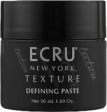 Духи, Парфюмерия, косметика Паста для волос текстурирующая - ECRU New York Texture Defining Paste