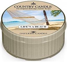 Духи, Парфюмерия, косметика Чайная свеча - Country Candle Life's A Beach Daylight