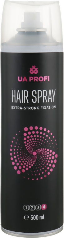 Лак для укладки волос - UA Profi Hair Spray Extra-Strong Fixation