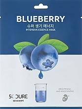 Духи, Парфюмерия, косметика Маска для лица с экстрактом черники - Jkosmec 5C Blueberry