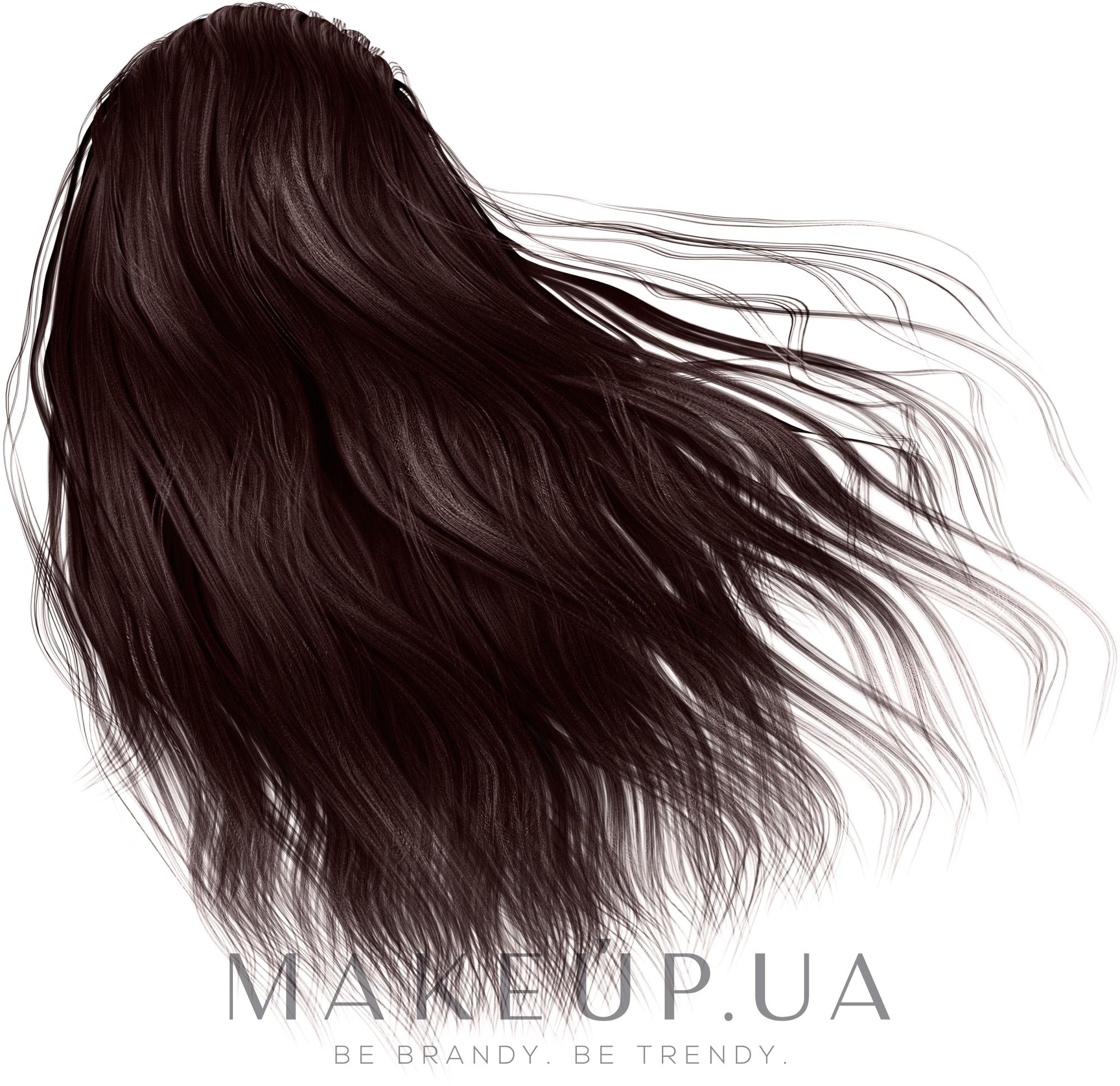Хна-краска для волос на основе хны - Mayur — фото Коричневая